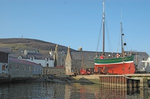PRince Olav Slip in Scalloway